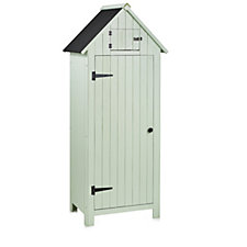 Sentry Wooden Garden Shed with 3 Interior Shelves