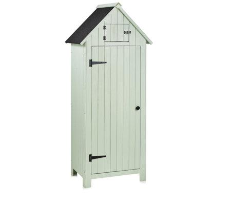 Sentry Wooden Garden Shed With 3 Interior Shelves Qvcuk Com