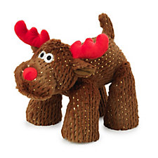 House of Paws Big Paws Sparkle Reindeer Pet Toy