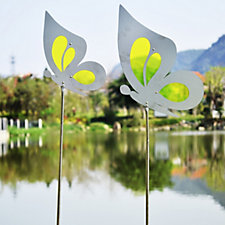 Home 2 Garden Set of 2 Garden Decor Butterflies