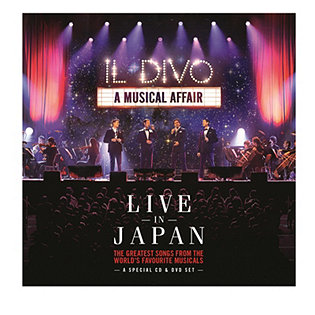 Il divo a musical affair live in japan cd album for Il divo cd