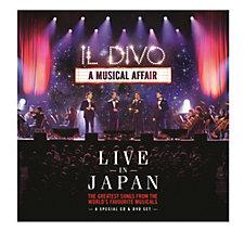 Il Divo A Musical Affair: Live in Japan CD Album