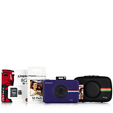 Polaroid SNAP Touch 13MP Camera with Case 8GB Micro SD Card & 50pgs Paper