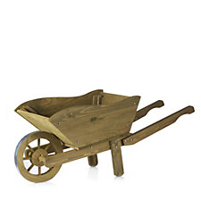 Smart Garden Extra Large Woodland Wheelbarrow Planter