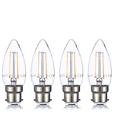 Smartwares Pack of 4 LED 2 Watt Candle Bulbs