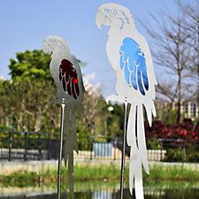 Home 2 Garden Set of 2 Garden Decor Parrots