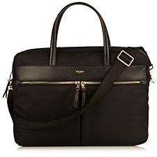 Knomo Hanover Women's Slim Briefcase For Laptops Up To 14