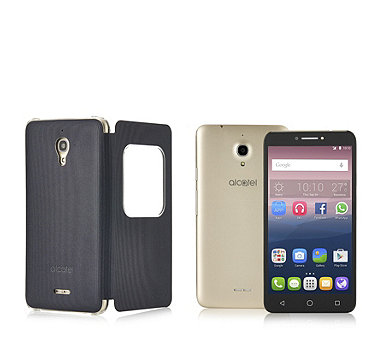 "Alcatel Pixi 4 6.0"" Sim Free Android Smartphone with Fitted Case & 8GB SD Card - 508105"