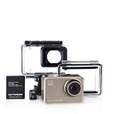 Activeon CX Gold 16MP Lifestyle Camera with Selfie Stick & 8GB SD Card