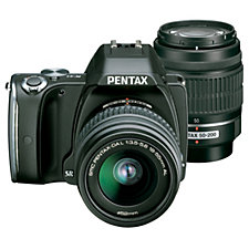 Pentax K-S1 DSLR with 18-55mm & 50-200mm Lenses, Case & 16GB SD Card