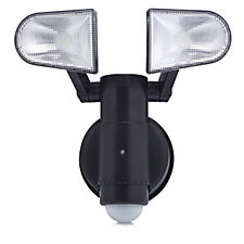 NiteSafe Battery Operated Twin Motion Activated Floodlight