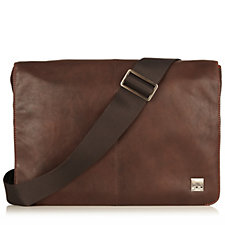 Knomo Kinsale Men's Leather Messenger Bag For Laptops Up To 13