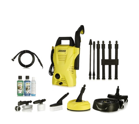 karcher k2 compact plus pressure washer with accessories. Black Bedroom Furniture Sets. Home Design Ideas