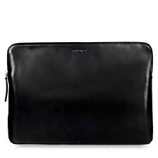 Knomo Leather Laptop Sleeve For MacBooks & Ultrabooks