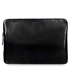 Knomo Leather Laptop Sleeve For MacBooks & Ultrabooks