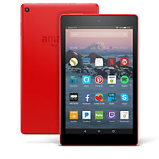 Amazon Fire HD8 16GB Tablet with Alexa Amazon Music & Case Vouchers