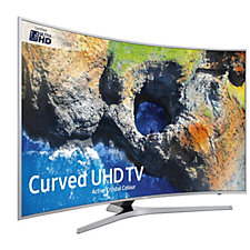 Samsung MU6500 Curved 4K Ultra HD HDR Smart TV with WiFi