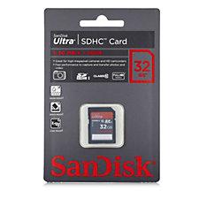 SanDisk Ultra Class 10 32GB SDHC Card