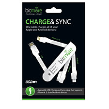 Bitmore Charge & Sync Multi Tip Portable Connector