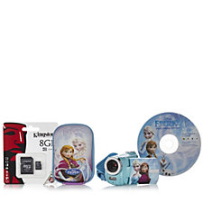 Disney Frozen 8.1MP Digital Video Recorder with Carry Case & 8GB SD Card