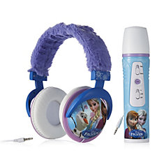 Disney Frozen Crowd Cheering Microphone & Plush Headphones