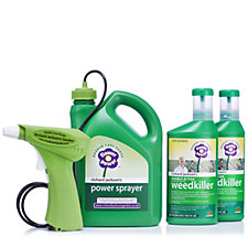 Richard Jackson's 2x500ml Weedkiller Concentrate w/ 2L Battery Powered Sprayer
