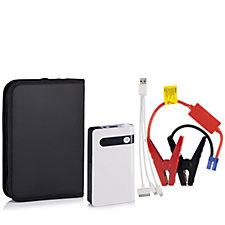 Mini Max 8000 mAh Portable Jump Starter & Power Bank with Carry Case