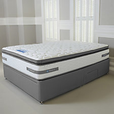 Sealy Advantage 2200 Pocket Spring Mattress w/Divan Bed & Bedding Drawer