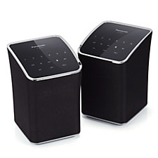 508119 - Panasonic ALL2EB Set of 2 Wi-Fi Multiroom Speakers with Bluetooth
