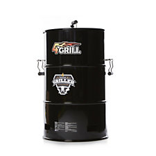 Batavia 4-in-1 BBQ Griller,Smoker Slow Cooker & Fireplace