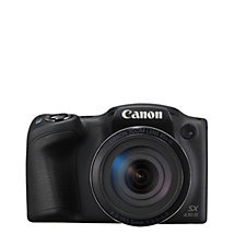 Canon Powershot SX430 20MP Bridge Camera w/ WiFi, 45x Zoom Case & SD Card