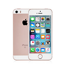 Apple iPhone SE 16GB Smartphone with Fitted Folio Case USB In Car Charger