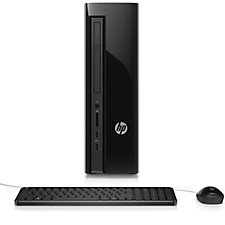 HP Slimline Desktop PC with 8GB RAM & 1TB HDD