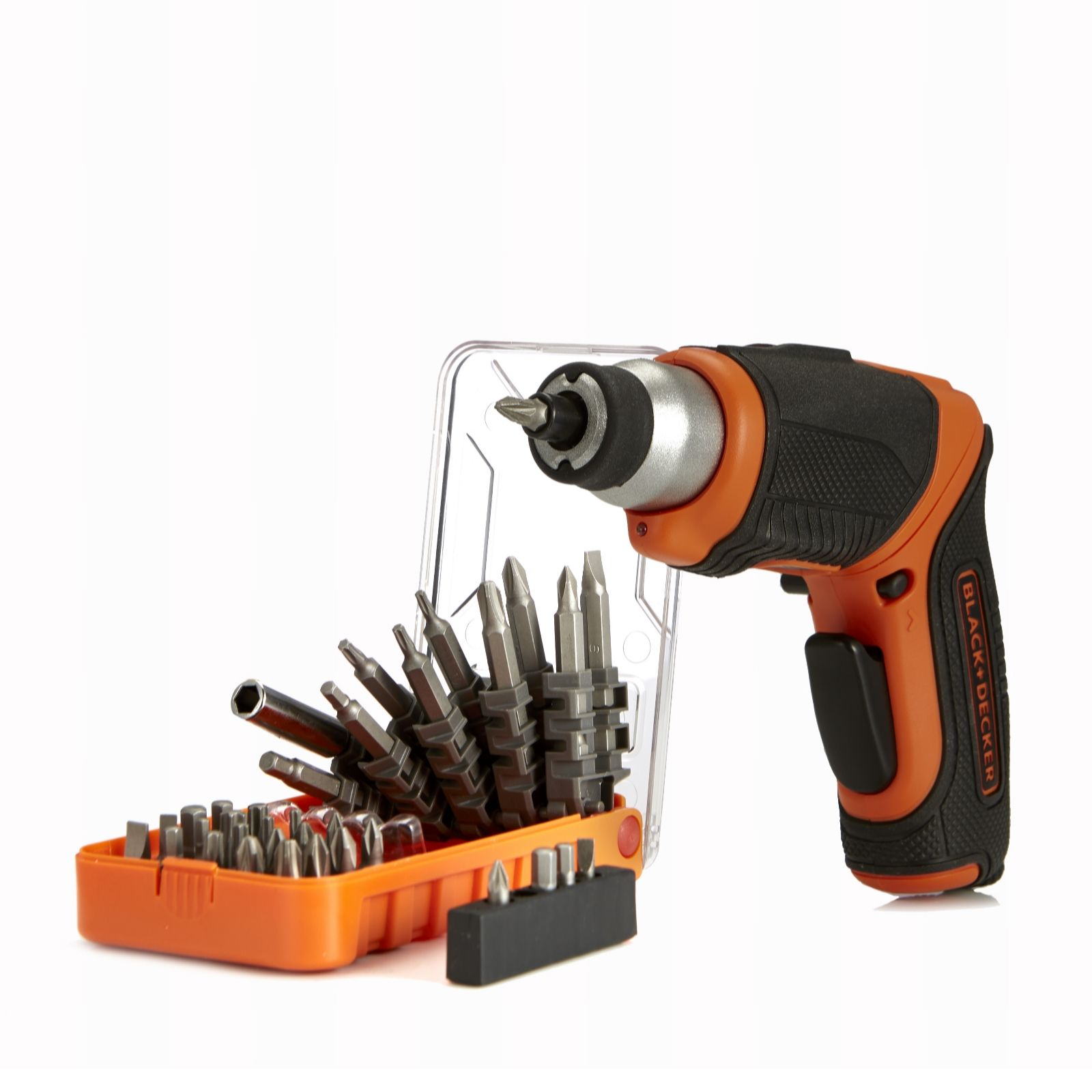 Black & Decker 3.6V Lithium Screwdriver with 30 Piece Accessory Kit