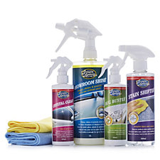 Greased Lightning 6 Piece Waterless Valeting Car Care Kit