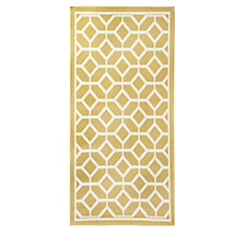 Home Reflections Indoor & Outdoor Easy Clean Stain Resistant Reversible Rug