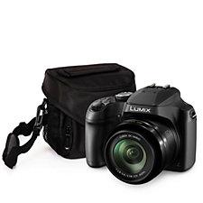 Panasonic Lumix DC-FZ82 18MP 4K Bridge Camera, 60x Zoom Case & SD Card