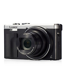 Panasonic TZ80 18MP WiFi Camera with 30x Zoom Case & Spare Battery