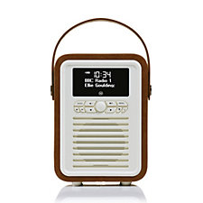 VQ Retro Mini DAB/FM Radio With Bluetooth