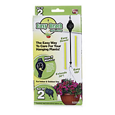 Langdon's Set of 2 Easy Reach Hanging Basket Pulleys