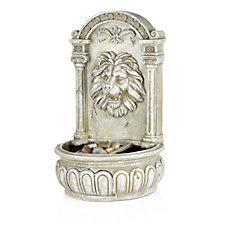 Bernini All Weather Rechargeable Lion Head Water Fountain