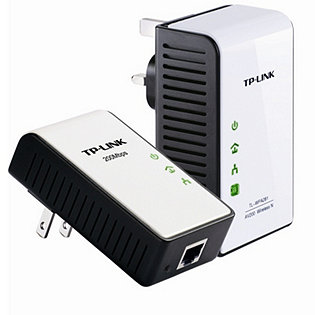 Tp link tptl wpa281kit 300mbps wireless powerline extender - Wireless extender with ethernet ports ...