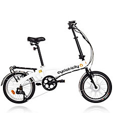 Cyclotricity Wallet 250W 8Ah Folding eBike with Lights