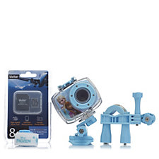 Disney Frozen 5.1MP Action Cam with Microphone SD Card & Accessories
