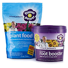 Richard Jackson's 750g Flower Power Premium Plant Food& 600g Root Booster
