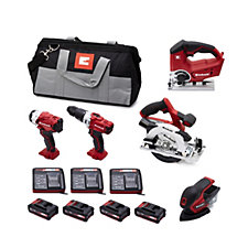 Einhell 5 Piece Lithium-ion Power Tool Set
