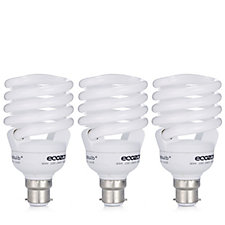 Pack of 3 Ecozone Daylight BioBulb Max