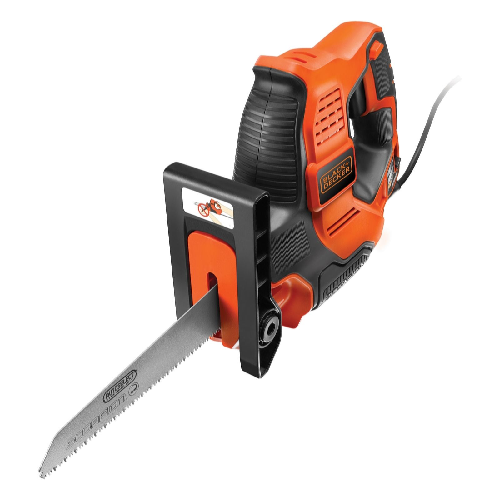 Black & Decker 500w Scorpion Powered Hand Saw with Kitbox - 507940