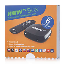 Now TV Smart TV Box with Choice of Passes