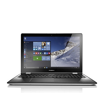 "Lenovo Yoga 500 15.6"" Touchscreen Laptop with Intel Core i3 4GB RAM & 1TB HDD - 508140"